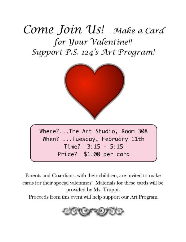 Valentine's Card Flyer, Truppi - pdf
