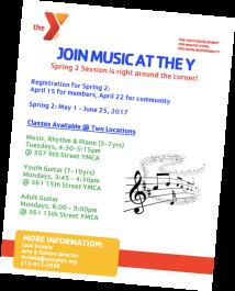 YMCA spring 2 music