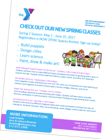 YMCA spring 2